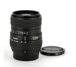 Sigma AF 4-5,6/55-200 DC voor Nikon
