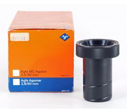 Agfa Agomar 1:2,8/60 mm projectie objectief