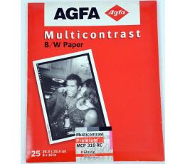 Agfa Multicontrast premium MCP 310 RC glossy 20,3x25,4 25 vel