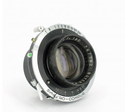 Boyer Zircon 1:5,6 f = 180 mm in Syncro Compur sluiter