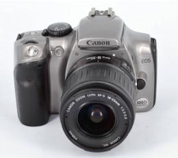 Canon EOS 300D met EF-S 3,5-5,6/18-55