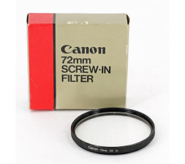 Canon UV filter 72 mm occasion