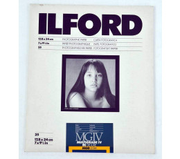 Ilford multigrade IV RC deluxe MGIV satijn 25 vel 17,8 x 24