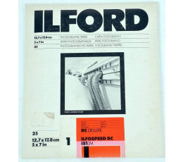 Ilford RC deluxe ilfospeed Rc IS1.1M 12,7x17,8 25 vel