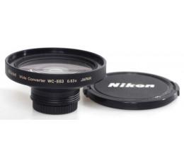 Nikon WC-E 63 groothoek converter 0,63 x
