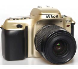 Nikon F 50 met 4-5,6/35-80 zoom