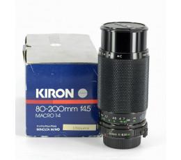 Kiron zoomlens 4,5/80-200 voor Minolta MD