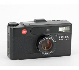 Leica Minilux zwart met tas