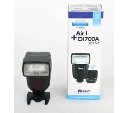 Nissin Di700A + Air1 NAS TTL-commander voor Nikon