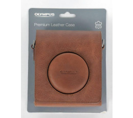 Olympus premium leather case