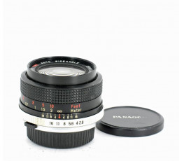 Panagor Auto Wideangle 28 mm f/ 2,8 voor Olympus OM