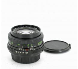 Vivitar Wide Angle 28 mm f/ 2,8 MC voor Pentax K