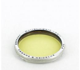 Rollei Licht Geel filter Bajonet III