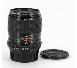 Sigma 3,5/135 Mini-Tele voor Pentax K
