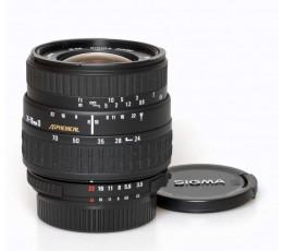 Sigma  3,5-5,6/24-70 UC voor Nikon AF
