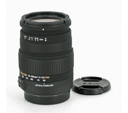 Sigma 50-200 mm f/ 4-5,6 DC OS voor Canon EOS