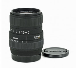 Sigma DC 55-200 mm f/ 4-5,6 D voor Sony / Minolta