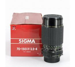 Sigma 3,5-4/70-150 voor Minolta MD