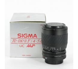 Sigma 4-5,6/70-210 UC voor Canon FD