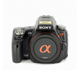 Sony A55 met 2 accu's occasion