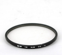 B+W UV filter Slim 72 mm