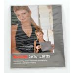 Kodak gray card set