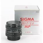 Sigma 2,8/28 mm voor Nikon