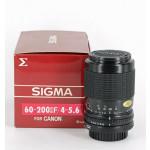 Sigma 4-5,6/60-200 voor Canon FD