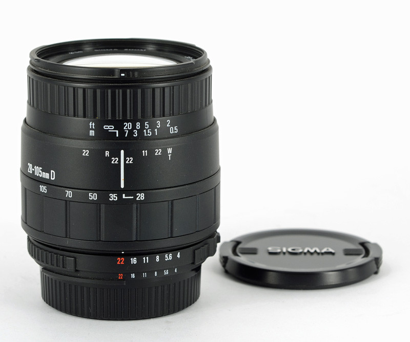 Kamera Nl Sigma 4 5 6 28 105 Uc Ii Voor Nikon Af D